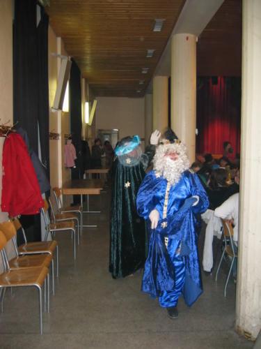 Reyes 2005 - 0084 - Arrivée Rois